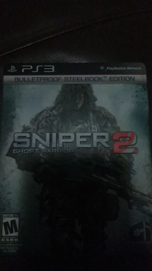 Ps3 sniper game for Sale in San Diego, CA