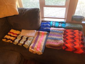 crocheted blankets for Sale in Washington, DC