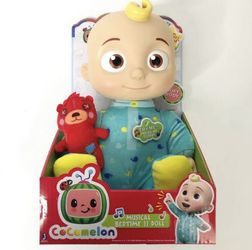"""Cocomelon Roto JJ Doll Bedtime Soft 10"""" Singing Plush Toy YouTube BRAND NEW IN HAND for Sale in Tacoma,  WA"""