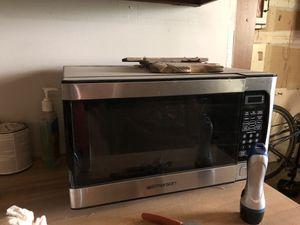 Stainless steel microwave for Sale in Andover, KS