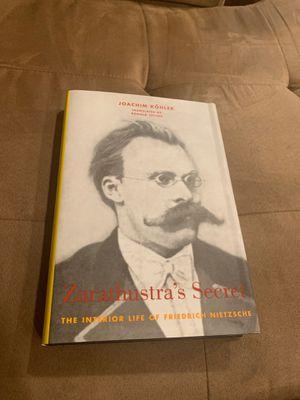 Zarathustras secret for Sale in West Springfield, VA
