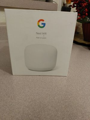 Best Google WiFi Router Plus One. Brand New for Sale in Henderson, NV