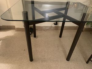 Dining table and coffee table with glass top for Sale in Chicago, IL
