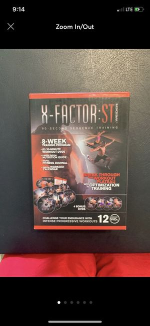 Weider X-Factor:ST Workout DVDs for Sale in Fresno, CA