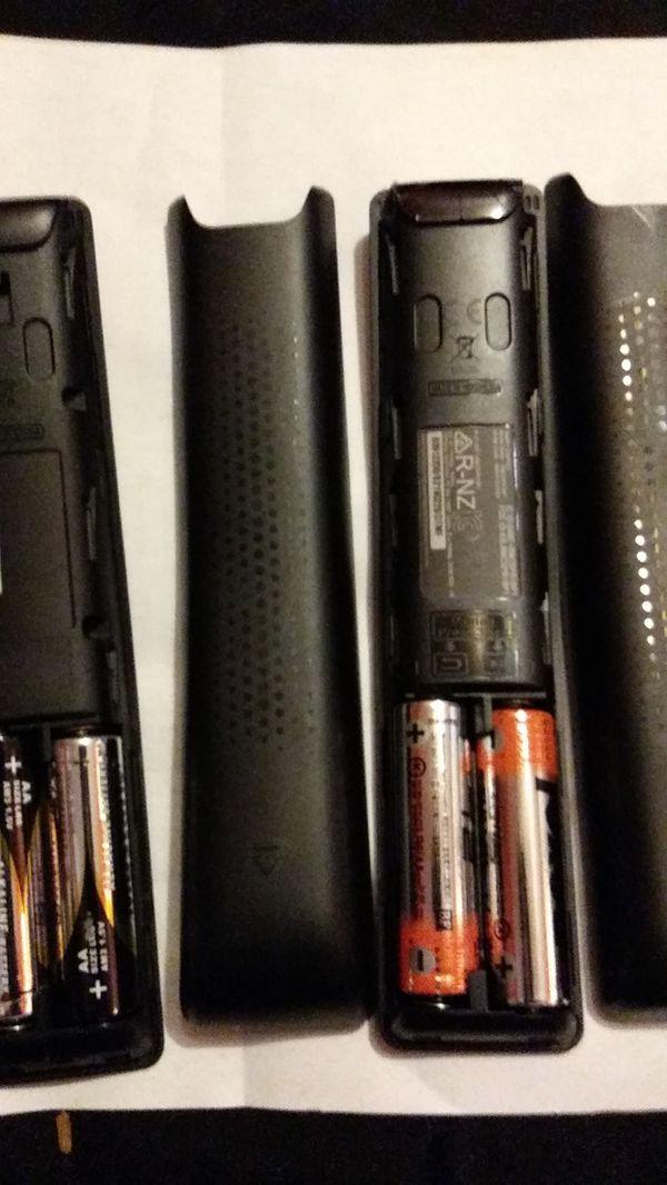 Samsung Tv and sound bar/subwoofer remotes