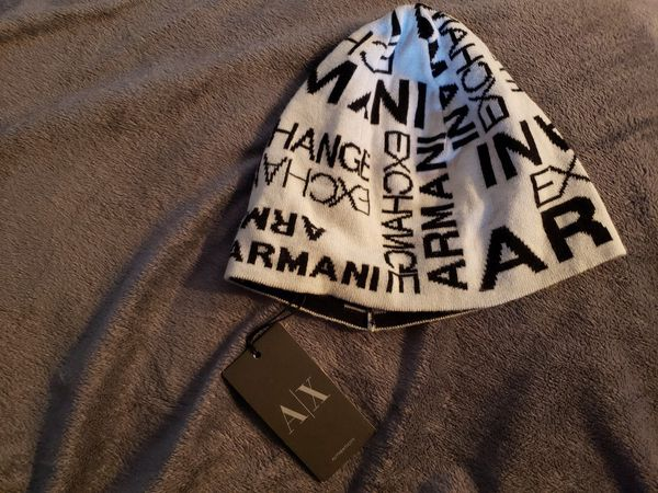Armani Exchange beanie