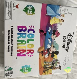 Color brain Disney board game for Sale in Sunrise, FL