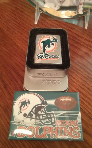Miami Dolphins collectable Zippo lighter for Sale in West Palm Beach, FL