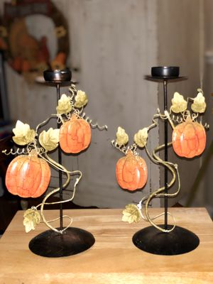 Fall Pumpkin candle holders🕯🧡🍂 for Sale in Orlando, FL