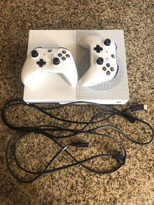 XBOX ONE S 1TB CONSOLE • 2 CONTROLLERS/1TB storage for Sale in Chandler, AZ