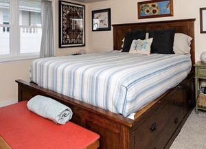 Queen storage bed for Sale in Marshfield, MA