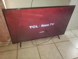 "55"" TCL ROKU 4K TV for Sale in Fresno, CA"
