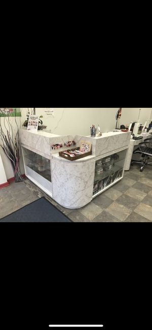 3 pieces reception desk for $200 for Sale in Chicago, IL