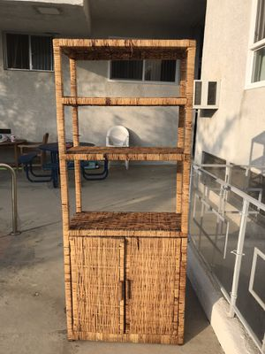 Wicker cabinet / kitchen / bathroom for Sale in Los Angeles, CA