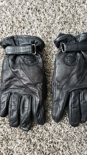 leather Harley Davidson riding gloves for Sale in Ontario, CA
