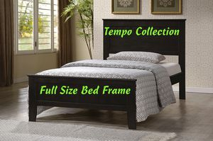 NEW, Full Wood Bed Frame with Slats, Espresso, SKU# 7581-CP for Sale in Westminster, CA