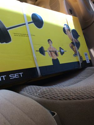 New 100lb Adjustable Weight Set for Sale in Douglasville, GA