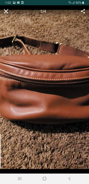 COACH LEATHER WAIST BAG NEW NO TAGS. FIRM ON PRICE WILL NOT REPLY TO LOWER OFFERS for Sale in San Diego, CA