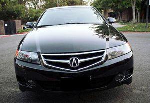 006 Automatic Acura TSX black car for Sale in Ida Grove, IA