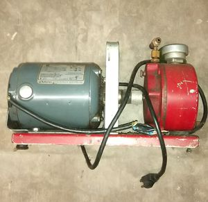 Automotive air conditioning vacuum pump w/charging gauges for Sale in San Antonio, TX