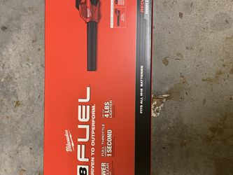 Milwaukee Fuel Blower Battery N Charger Included for Sale in Fort Myers,  FL