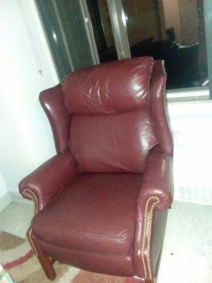 Genuine Leather recliner for Sale in Denver, CO