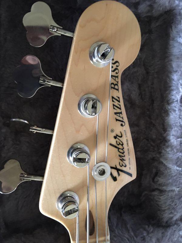 2018 Fender USA Geddy Lee Jazz Bass