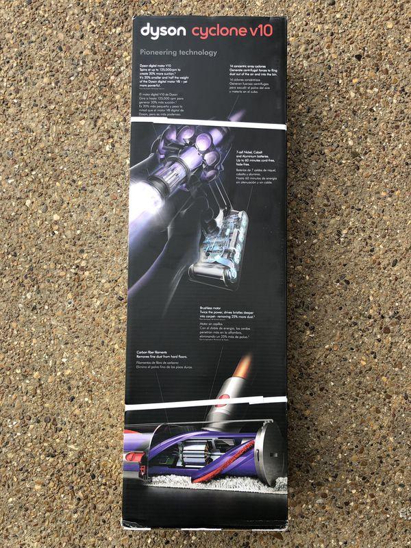 Dyson Cyclone V10 Absolute Cordless Handheld Stick Vacuum Lightweight