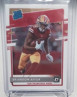 Brandon Aiyuk Rated Rookie 2020 Optic for Sale in Milwaukie,  OR