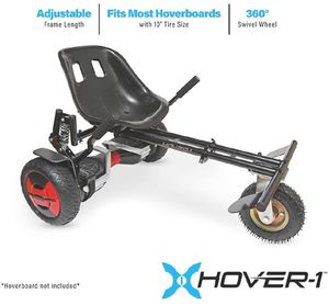 Black Friday Hoverkart for hoverboard Fits All Size 6.5 Inch/8 Inch/10 Inch Flame Hover Seat for Sale in Fort Myers, FL