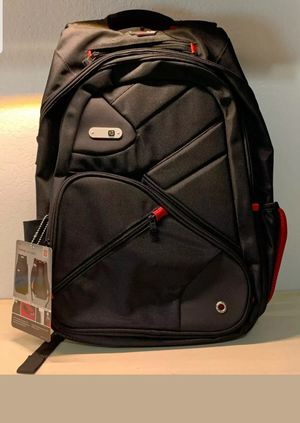 "FUL Marlon Laptop Tablet Backpack Black, Red, & Grey With Audio Port 20"" Nice! for Sale in Las Vegas, NV"