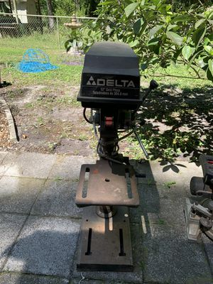 "DELTA 12"" Drill Press, used but works fine for Sale in Orlando, FL"