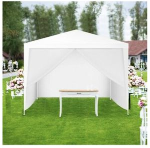 New 10' x 10' Outdoor Side Walls Canopy Tent Premium pe fabric protects from water heat wind and UV for Sale in Etiwanda, CA