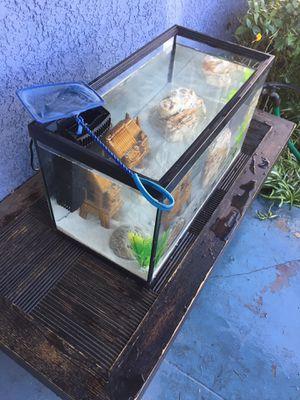10 Gallon Aquarium/Fish Tank set up!!! 🐟🐠🐡 for Sale in Los Angeles, CA
