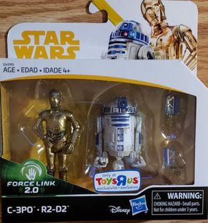 New Star Wars 2 Pack. C-3PO & R2-D2 for Sale in Apopka, FL