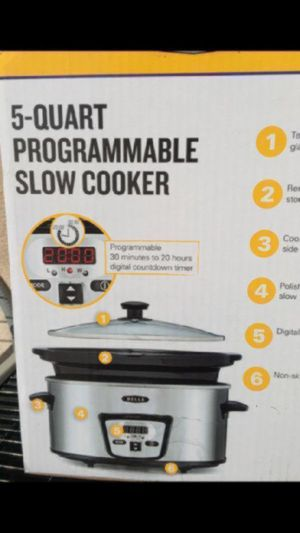 5 Quart slow cooker $25 for Sale in Burbank, CA