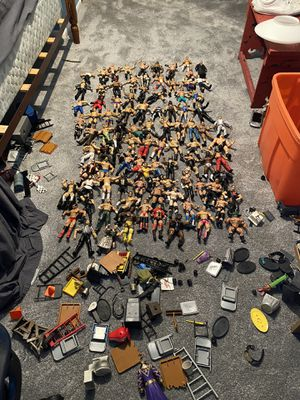 Lot of RARE WWE figures for Sale in CT, US