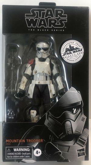 "Star Wars Black Series Mountain Trooper Galaxy Edge Target Exclusive 6"" for Sale in Pasadena, TX"