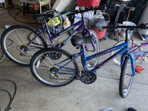 2 girls bikes for Sale in Fresno, CA