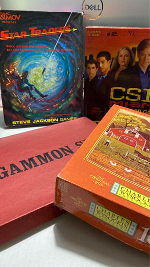 Games and a puzzle for Sale in Santee, CA