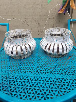 Metal hanging planters for Sale in Portland, OR