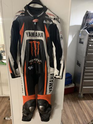 Yamaha Racing motorcycle leather suit for Sale in Boca Raton, FL