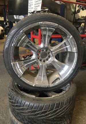 Rims and tires 400 obo for Sale in Sanger, CA