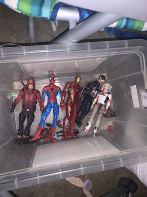 Action figure toys for Sale in Oceanside, CA