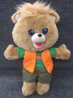 "2018 Teddy Ruxpin Adventure Singing Talking Bear 12"" Plush for Sale in Los Angeles, CA"