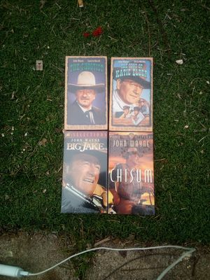 John Wayne Collection VHS for Sale in Mansfield, TX