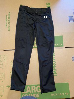 Under Armour Boys Black Baseball Pants for Sale in Joplin, MO