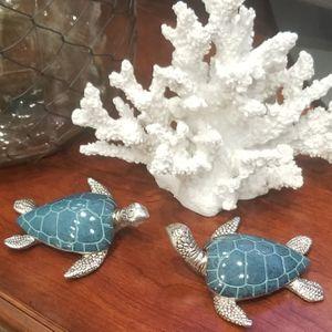 """New! Pair 4 3/8"""" Sea Turtle Decor - Coastal for Sale in Miami, FL"""