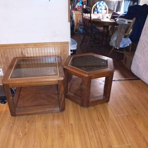 Glass End Tables for Sale in Baker, FL