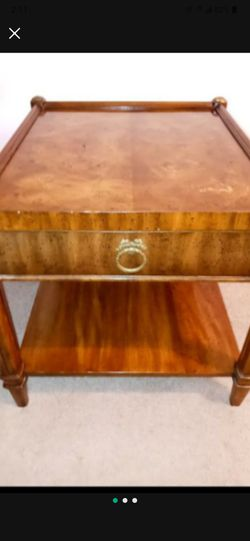 Weiman Antique Wood Stain Table Plus Drawer for Sale in Sterling Heights,  MI
